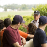 John King gives a Montmorency tart cherry orchard tour
