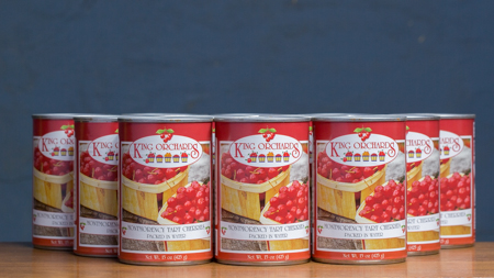 King Orchards Montmorency Tart Cherries Packed in Water