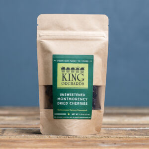 King Orchards Dried UnSweeted Montmorency Tart Cherries