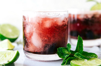 Tart Cherry mocktail