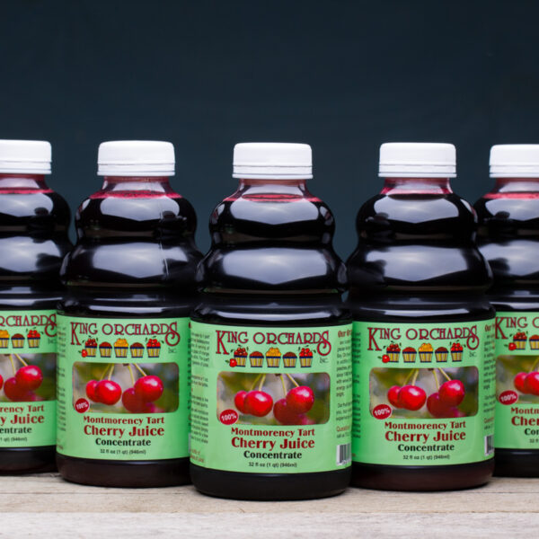 Montmorency Tart Cherry Juice Concentrate 5 pack quarts