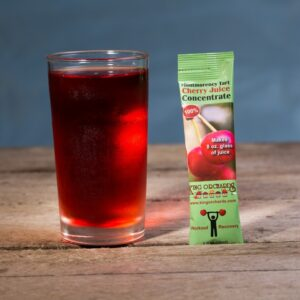 Montmorency tart cherry juice single serving packet