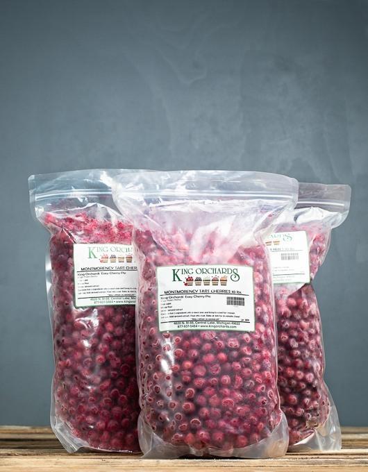 30 lbs  Frozen Michigan Tart Cherries