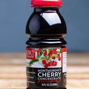 8 ounce Montmorency tart cherry concentrate from King Orchards